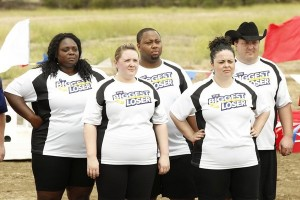 Team Jillian at the start of their first challenge.