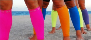 Zensah sleeves in just about every color of the rainbow.