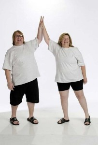 Jackie & Dan before their weight loss on The Biggest Loser.