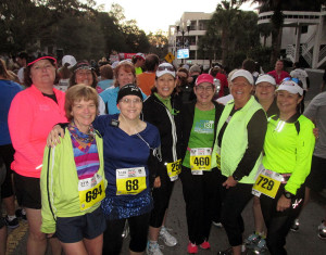 Group before the 10k started .