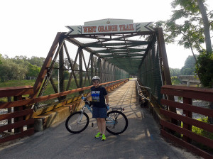 On the West Orange Trail