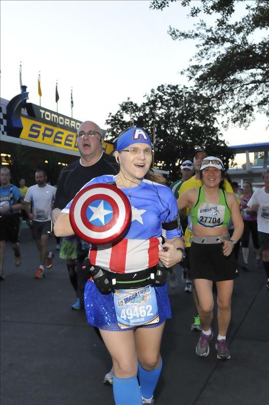 The Girl's Got Sole - 2013 WDW Half Marathon