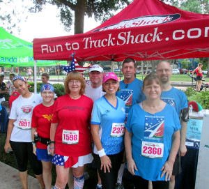 Some of the Orlando Galloway group at the Watermelon 5k.