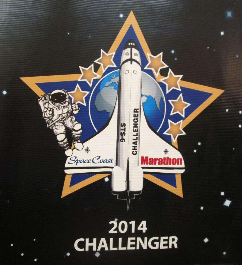2014, the year of the Challenger at Space Coast.