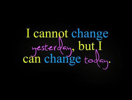 changeyesterday