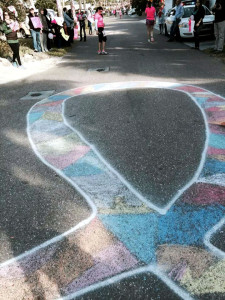 On course, so much neat chalk art and inspirations! (pic courtesy of Mercedes Smith)