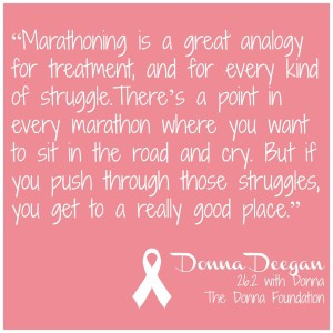 LOVE this quote from Donna!