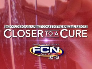 Closer to a Cure because of your donations.