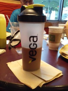 Mocha Vega Sport post-run on Saturday.