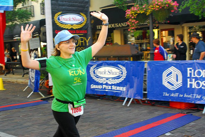 My first-ever 10k in 2011!