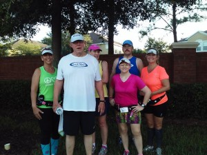 After the run in Apopka.