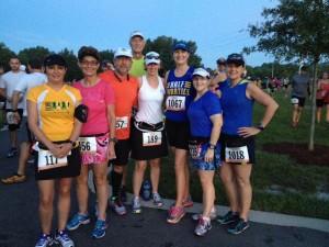 Some of Orlando Galloway before the half marathon.
