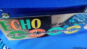 Echo Half Marathon medal.
