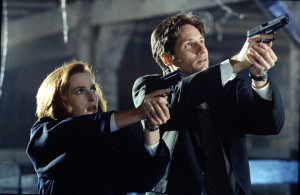 Mulder & Scully, one of the best duos on TV, hands down.