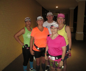 Some of my Galloway running group.