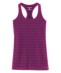 Brooks Go-To Tank in currant/navy.