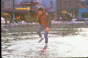 Hey McFly, hoverboards don't work on water!
