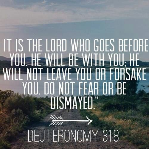 When I am experiencing fear, I remember this.