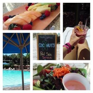 Poolside at Hyatt Regency Orlando.