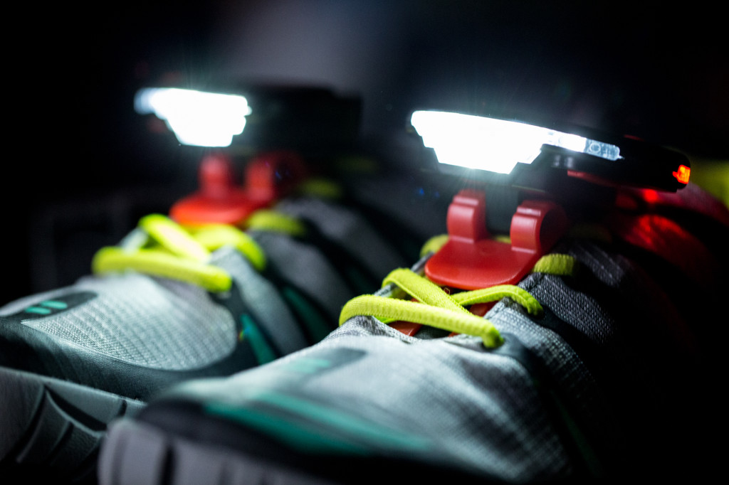 The Girl's Got Sole - NightRunner shoe lights