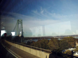 Heading into Staten Island