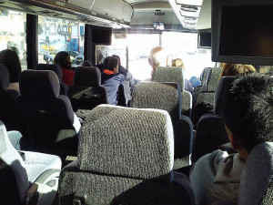 Marathon route motor-coach tour