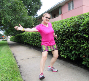 Presenting the Gym Girl Ultra. So much fun to run in!