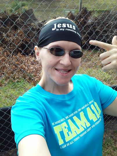 God's girl who knows that Jesus is truly my running coach. :)