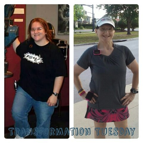 Transformation pic, before and after.