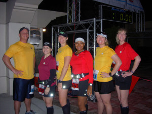 Space Coast Marathon 2013, Star Trek fun.