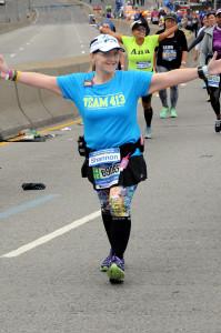 During the NYC Marathon on November 1st.