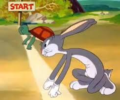 Bugs Bunny & Cecil Turtle