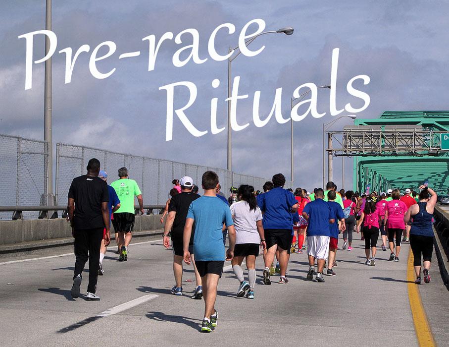 Pre-race rituals