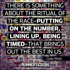 race rituals