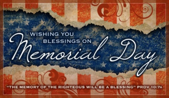 Memorial Day Blessings