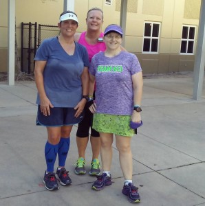 Saturday run girls