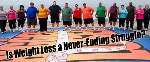 Weight Loss Struggle