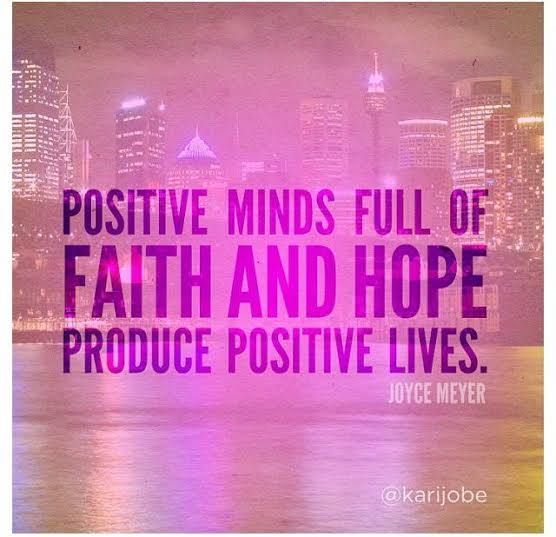 positive minds quote