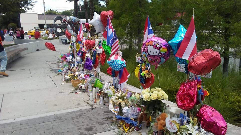Pulse memorial crosses