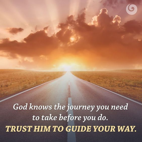 God knows your journey