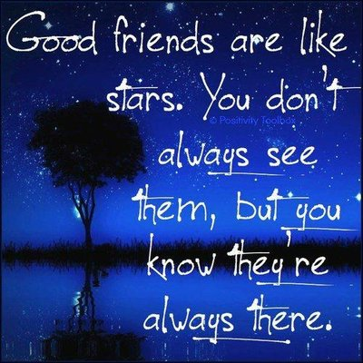 The Girl's Got Sole - Good friends are like stars