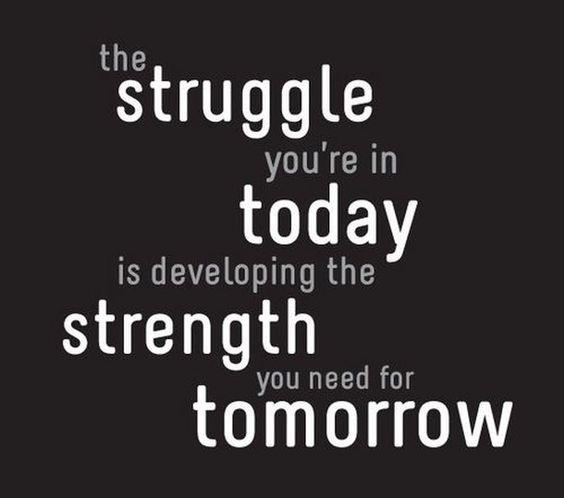 Girl's Got Sole - struggle today, strength tomorrow