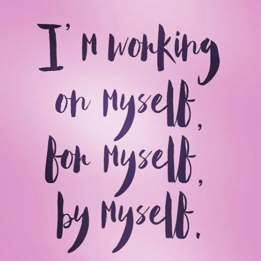 Girl's Got Sole - working on myself