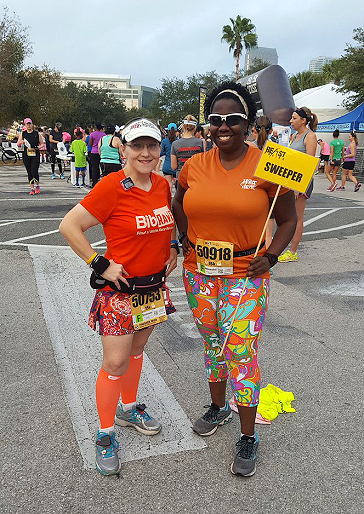 The Girl's Got Sole - Hot Chocolate 15k Tampa