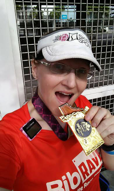 The Girl's Got Sole - Hot Chocolate 15k with medal