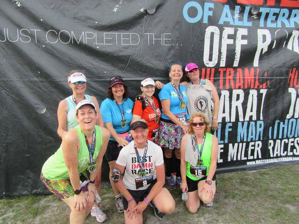The Girl's Got Sole - Masters of All Terrain group