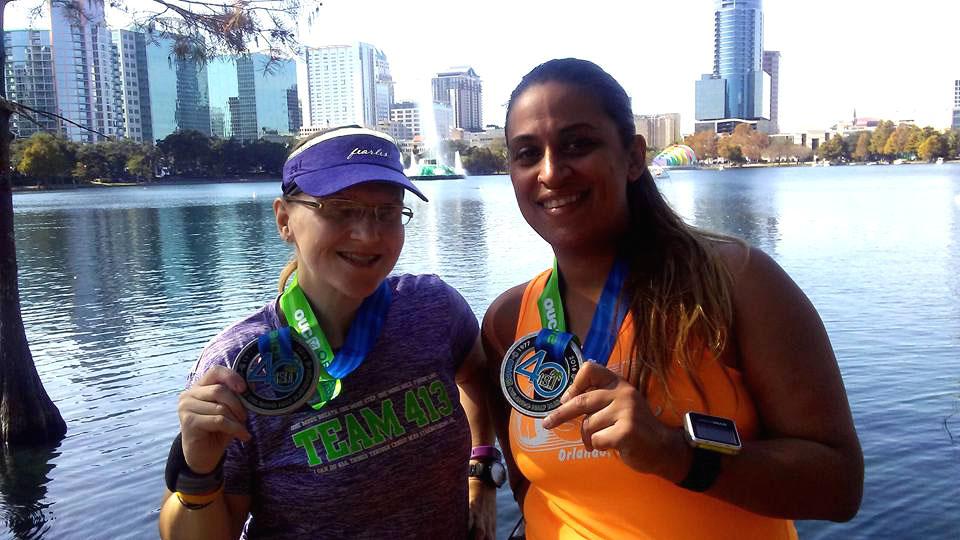 The Girl's Got Sole - OUC Half Marathon 2016