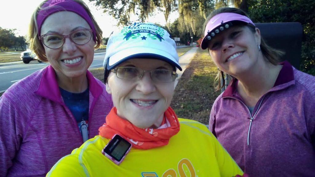 The Girl's Got Sole - running trio