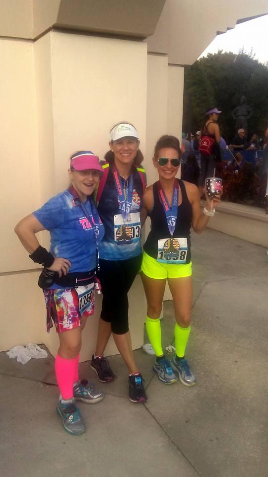 The Girl's Got Sole - Space Coast Half Marathon 2016