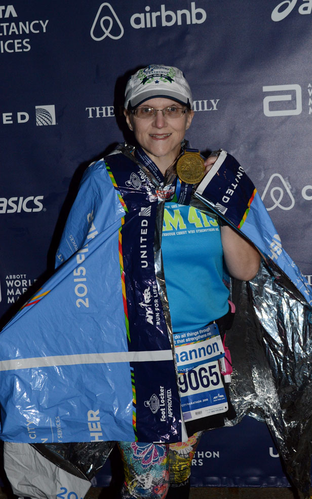 The Girl's Got Sole - 2015 NYC Marathon Finisher